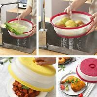 5Set Microwave Food Cover Vented Cooking Kitchen Splash Guard Covers Plastic