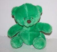 "Circus Circus GREEN Plush TEDDY BEAR 6"" Reno Las Vegas Stuffed Animal Soft Toy"