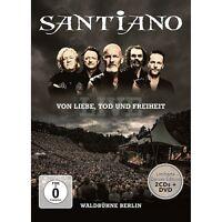SANTIANO - VON LIEBE,TOD UND FREIHEIT-LIVE (LIMITED DELUXE)  2 CD+DVD NEU