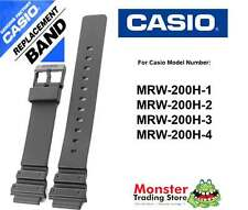 REPLACEMENT CASIO WATCH BAND STRAP ORIGINAL ONLY FITS: MRW-200H,MRW200H