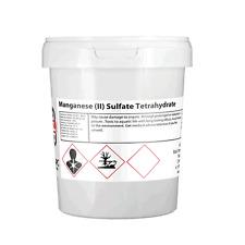 1 Kilogram (1KG) Manganese (II) Sulphate Tetrahydrate  99% Pure