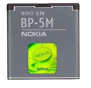 OEM Cellphone Battery BP-5M 900mAh For Nokia 5610 6110 6500 6500s 7390 8600 5700