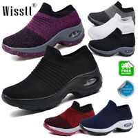 Women's Cushioned Running Shoes Breathable Jogging Sports Athletic Sneakers