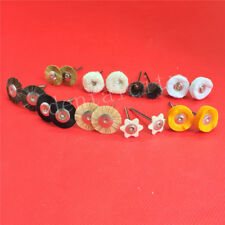 18pc Dental Lab Brush Polishing Wheel Polishers for Rotary Tools 2.35mm 9pcs/set