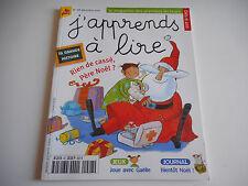J'APPRENDS A LIRE - RIEN DE CASSE, PERE NOEL ? N° 28 DECEMBRE 2001