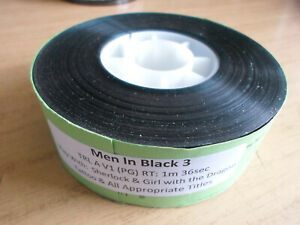 35mm MEN IN BLACK 3 trailer. Will Smith sci fi comedy (2012). Film cells.