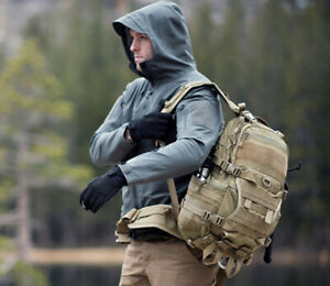 Mens Army Jacket Fortress Soft Shell Fleece Lined Windproof Outdoor Work