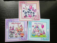 6 New Wooden Cute Spotty  Fox card topper embellishment decorations  red /& brown