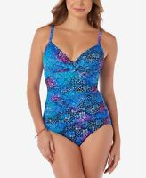 NWT Swim Solutions 1PC One Piece Bikini Swimsuit Many Sizes MSRP $99 #3246