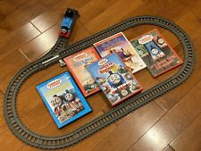 Calling All Engines & 4 More DVDs w/ Thomas the Train Trackmaster Gift Set Lot!