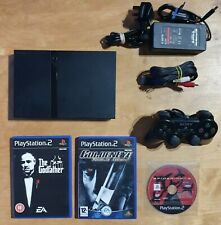 SONY PS2 Playstation 2 Slim Console + 3 jeux