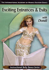 Exciting Entrances & Exits - Belly Dance DVD Video - Learn Belly Dancing