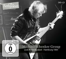 MICHAEL SCHENKER GROUP - Live At Rockpalast – Hamburg 1981 - CD + DVD MadeInGerm