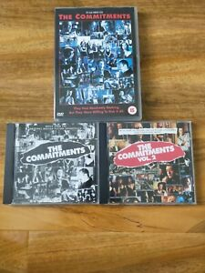 The Commitments DVD & 2 Soundtrack CDs Volumes 1 & 2