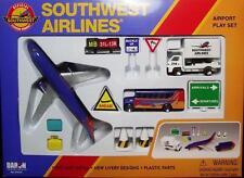 Daron Airport Playset-RT 8181-Southwest Airlines-Die Cast & Plastic Parts-12 Pcs