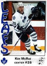 1993-94 St. Johns Maple Leafs #16 Ken McRae