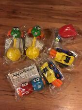 Burger King Set Of 6 M&M's Minis Kids Club Toys