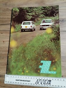 Fiat 128 Saloon and Estate Sales Brochure