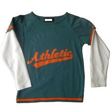 Camiseta manga larga  niño de Newness , verde , talla 6