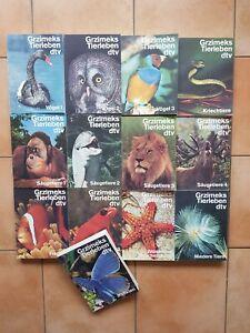 Grzimeks Tierleben, Enzyklopädie des Tierreichs in 13 Bänden