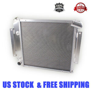 Details about  /3 Row BC Champion Radiator for 1966 1967 Chevrolet Chevy II Nova V8 Conversion