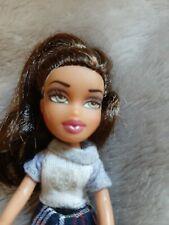 "MGA Lil Bratz Girlz Mini  Talia Doll 4 1/2 "" tall comes w outfit & sneakers VGUC"