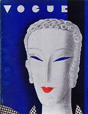 VOGUE November 15 1932 Benito Vanity Number Christmas Steichen Huene Lanvin