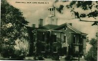 Vintage Postcard - Town Hall Islip Building Long Island New York NY #2942