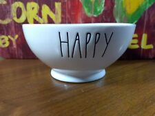 Rae Dunn Magenta Happy Cereal/Soup Bowl
