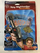 2005 Spy Gear Spy Night Writer Silent Communicator Message Appears in Air *NEW*