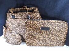 Leopard Print Traveler Duffle Gym Bag 3pc Luggage 18-Inch – New