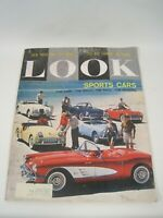 Look Magazine August 4, 1959 Sports Cars The Rage Rally Race Reasons mg1676