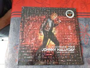 Johnny Hallyday Flashback Tour 3LP Couleur Orange Transparent Limitée Scéllé