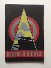Redfield Sights Catalog No. 34, 1934 MINT Condition RARE Catalog