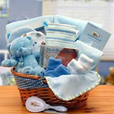 Gift basket 890573-B Simply The Baby Basics New Baby Gift Basket- Blue