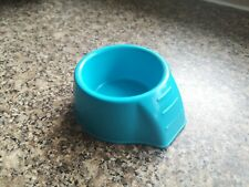 Blue ,Plastic Small Animal feeding Dish /Bowl