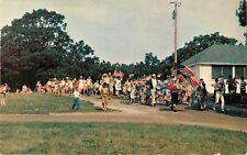 c1970 4th of July Parade, Milton, Wisconsin Postcard