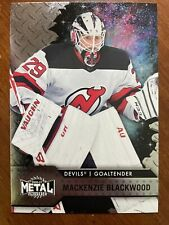 20-21 UD NHL Metal Universe Sky Box Hockey 42 Mackenzie Blackwood