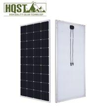 HQST 175W Watts 12V Mono Solar Panel 180 Watt Power RV Car Boat Camping Off Grid