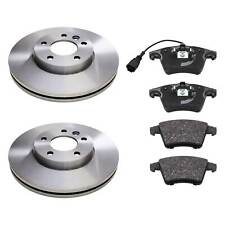 REAR BRKE DISCS AND PADS FOR VW OEM QUALITY 22841318