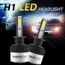 2x Nighteye H1 72W 9000LM AUTO LED LAMPADE FARI HEADLIGHT BULB LUCI BIANCA 6500K