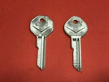 NOS 1967 GM CADILLAC CREST KEY BLANKS A & B GM YOUR KEY TO GREATER VALUE 67