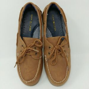 NEW! Tommy Hilfiger Boy's Douglas Boat Shoe - Sizes 1Y-4Y, Brown