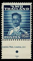1953 Thailand King Bhumibol Definitive Issue 1.15 Baht Mint Sc#289 Margin MNH