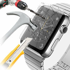 100% Genuine Tempered Glass Protector for Apple Watch Series 1/2/3 iWatch 42mm