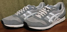 Asics Men's 10 Gray Mesh & Leather Running Shoes/Athletic Sneakers H057N ~237