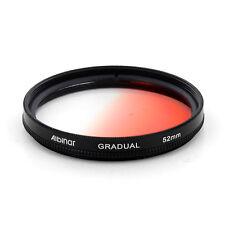Albinar 52mm Red Graduated Gradual Color Filter