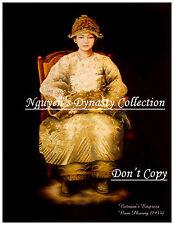 Vietnam - Indo-chine Postcard. Vietnam's Last Empress Nam Phuong. REPRODUCTION