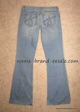 Juicy Couture Womens 27 Tall The Frankie Jeans Denim Flare Cast Iron