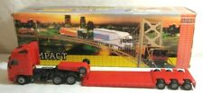 JOAL COMPACT 1:50 SCALE DIECAST VOLVO FH16 GLOBETROTTER XL & LOWBED TRAILER #332